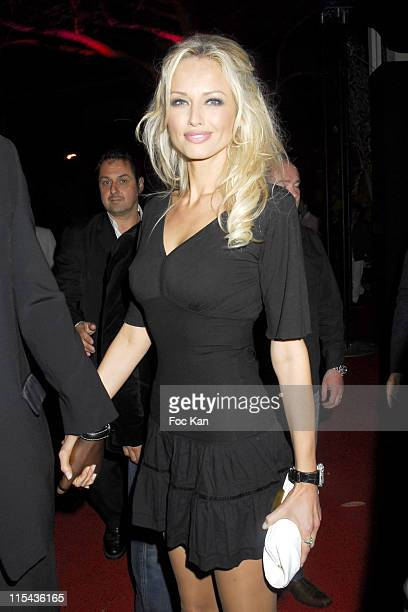 Adriana Karembeu during 2006 Cannes Film Festival DJ Martin Solveig Party at VIP Room in Cannes France