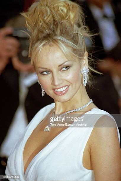 Adriana Karembeu during Cannes 1999 File Photos at Palais des Festivals in Cannes France