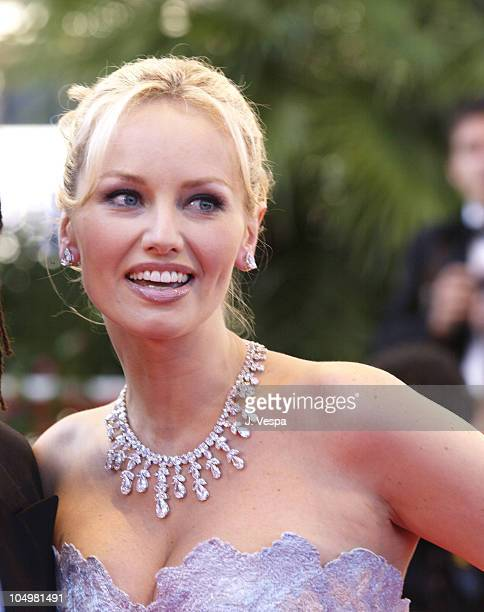 Adriana Karembeu during Cannes 2002 'Searching for Debra Winger' Premiere in Cannes France