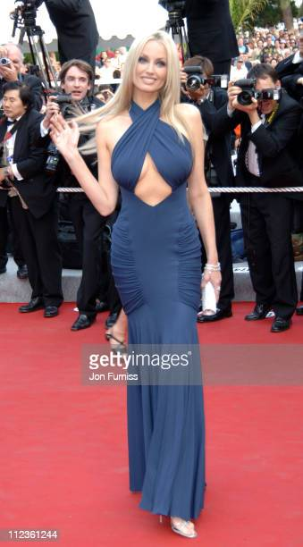 Adriana Karembeu during Cannes 2005 Film Festival Where The Truth Lies Premiere at Palais Du Festival in Cannes France