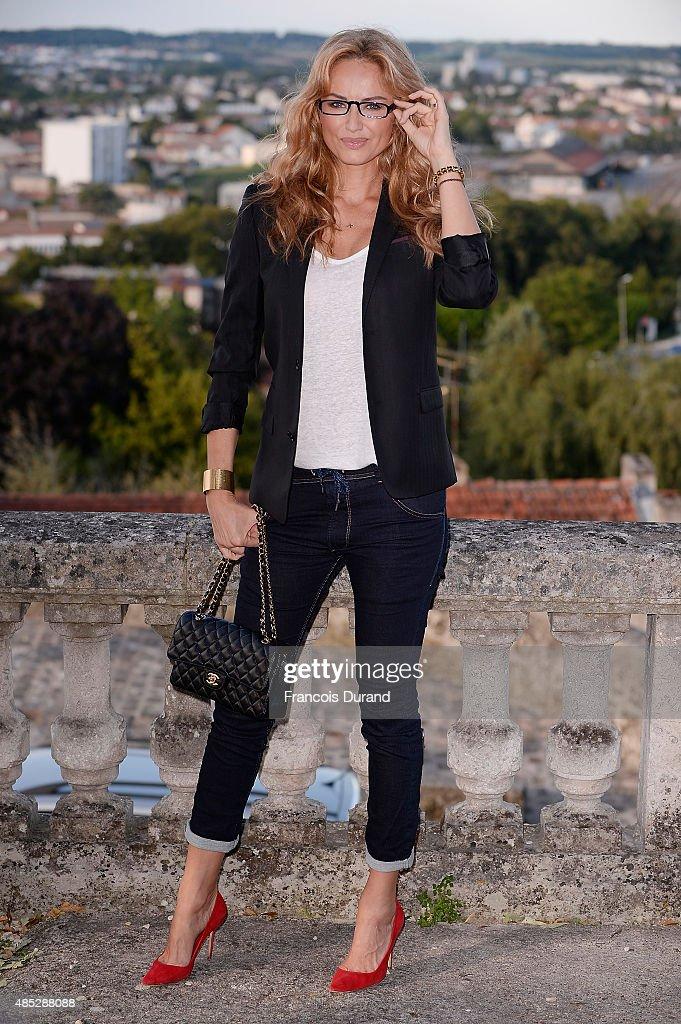 'Adriana Karembeu' Photocall : 8th Angouleme French-Speaking Film Festival