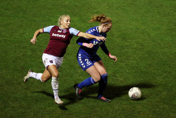 GBR: West Ham United v Durham Ladies - FA Women's Continental League Cup Quarter Final