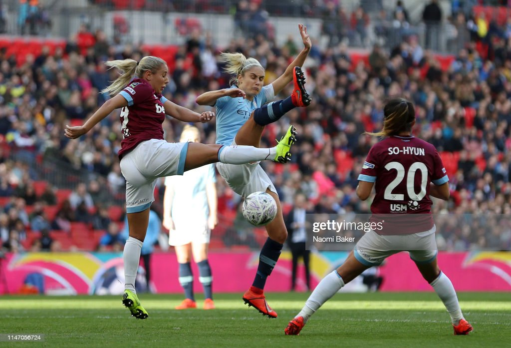 Manchester City Women v West Ham United Ladies - Women's FA Cup Final : News Photo