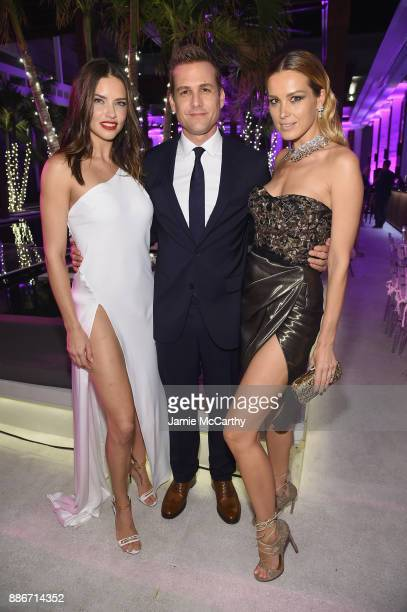 Adriana Lima actor Gabriel Macht and Petra Nemcova attend Creatures Of The Night LateNight Soiree Hosted By Chopard And Champagne Armand De Brignac...