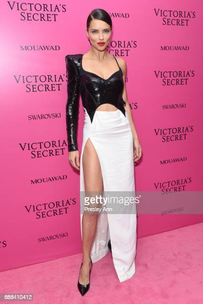 Adriana Lima attends 2017 Victoria's Secret Fashion Show In Shanghai After Party at MercedesBenz Arena on November 20 2017 in Shanghai China