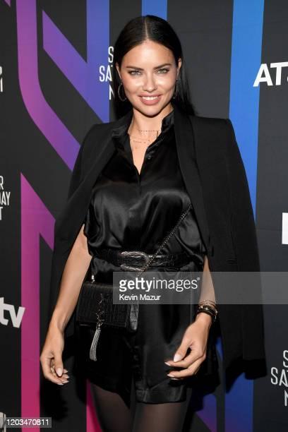 Adriana Lima attends ATT TV Super Saturday Night at Meridian at Island Gardens on February 01 2020 in Miami Florida