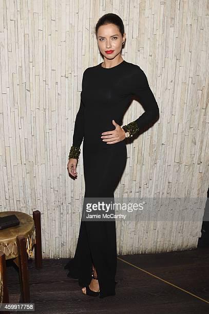 Adriana Lima attends IWC Schaffhausen celebrates 'Timeless Portofino' Gala Event during Art Basel Miami Beach to mark the Launch of the new Portofino...