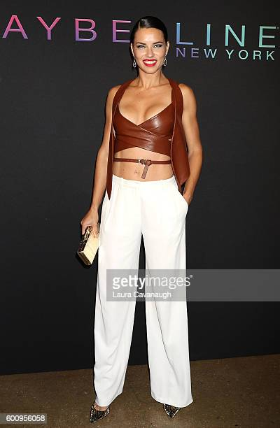 Adriana Lima attends Maybelline New York Celebrates NYFW on September 8 2016 in New York City