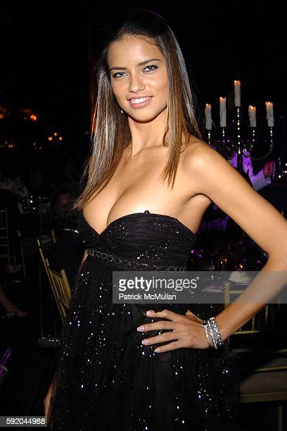 Adriana Lima attends New Yorkers For Children 10th Anniversary Fall Gala at Cipriani 42nd Street on September 21 2005 in New York City