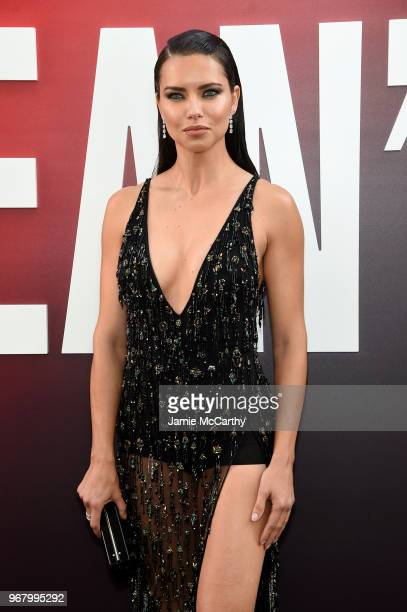Adriana Lima attends Ocean's 8 World Premiere at Alice Tully Hall on June 5 2018 in New York City