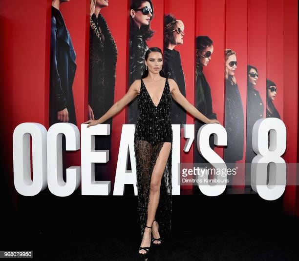 Adriana Lima attends 'Ocean's 8' World Premiere at Alice Tully Hall on June 5 2018 in New York City