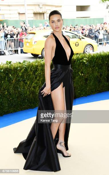 Adriana Lima attends 'Rei Kawakubo/Comme des Garcons Art Of The InBetween' Costume Institute Gala at Metropolitan Museum of Art on May 1 2017 in New...