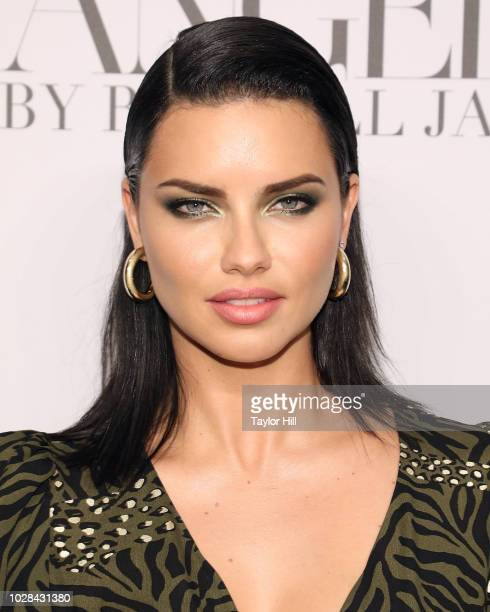 Adriana Lima attends Russell James' launch of his photobook and exhibition Angels at Stephan Weiss Studio on September 6 2018 in New York City