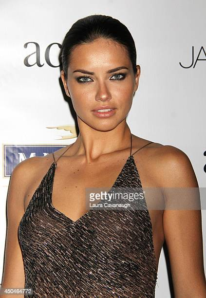 Adriana Lima attends the 2014 Young Friends Of ACRIA Summer Soiree at Highline Stages on June 11 2014 in New York City