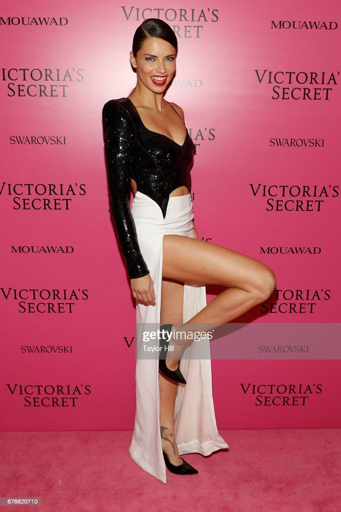 Adriana Lima attends the 2017 Victoria's Secret Fashion Show After Party on November 20, 2017 in Shanghai, China.