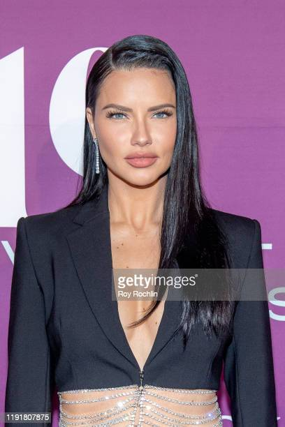 Adriana Lima attends the 2019 FN Achievement Awards at IAC Building on December 03, 2019 in New York City.