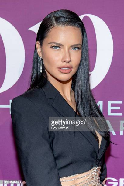 Adriana Lima attends the 2019 FN Achievement Awards at IAC Building on December 03 2019 in New York City