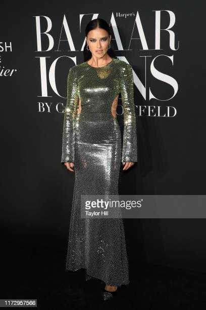 Adriana Lima attends the 2019 Harper ICONS Party at The Plaza Hotel on September 06, 2019 in New York City.