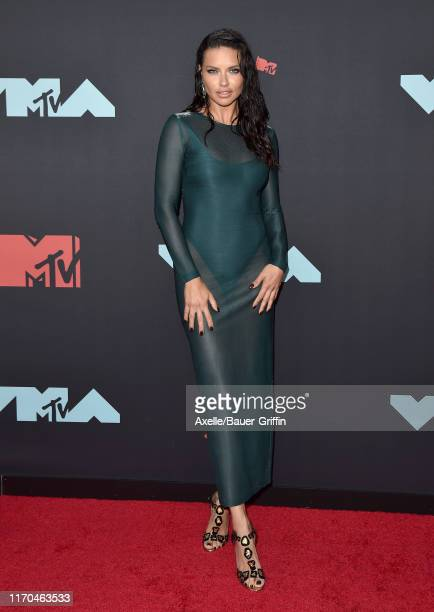 Adriana Lima attends the 2019 MTV Video Music Awards at Prudential Center on August 26 2019 in Newark New Jersey