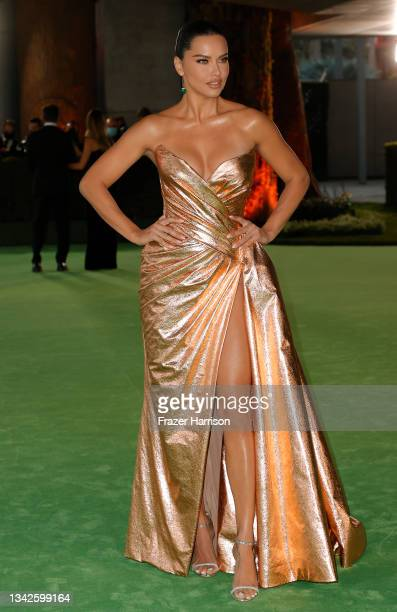 Adriana Lima attends The Academy Museum of Motion Pictures Opening Gala at The Academy Museum of Motion Pictures on September 25, 2021 in Los...