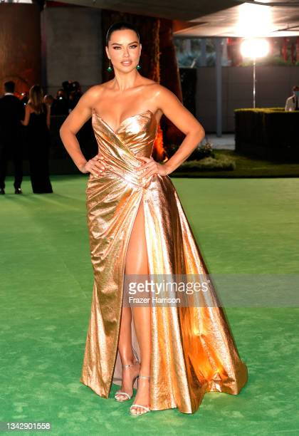 Adriana Lima attends The Academy Museum Of Motion Pictures Opening Gala at Academy Museum of Motion Pictures on September 25, 2021 in Los Angeles,...