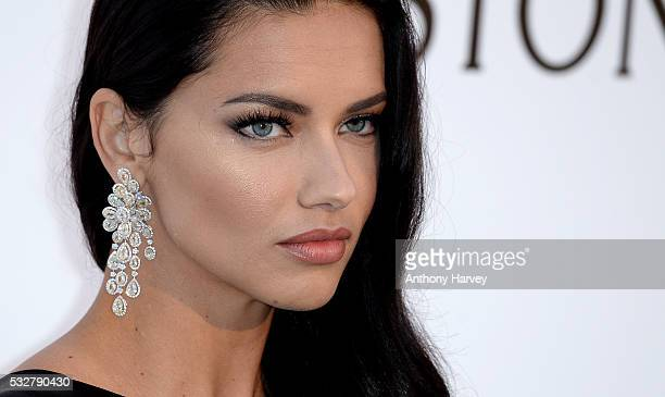 Adriana Lima attends the amfAR's 23rd Cinema Against AIDS Gala at Hotel du CapEdenRoc on May 19 2016 in Cap d'Antibes France