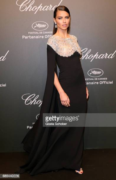 "Adriana Lima attends the Chopard ""SPACE Party"" hosted by Chopard's copresident Caroline Scheufele and Rihanna at Port Canto on May 19 in Cannes France"