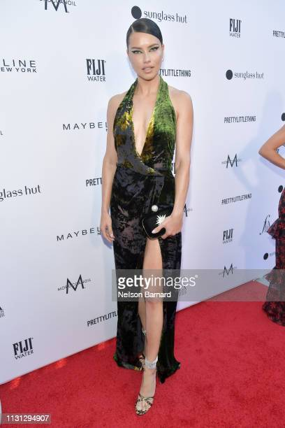 Adriana Lima attends The Daily Front Row Fashion LA Awards 2019 on March 17 2019 in Los Angeles California