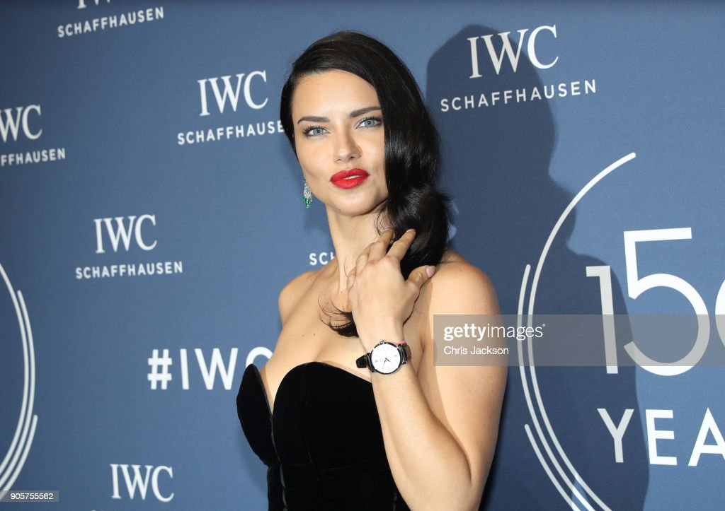 IWC Schaffhausen at SIHH 2018 - Red Carpet : News Photo