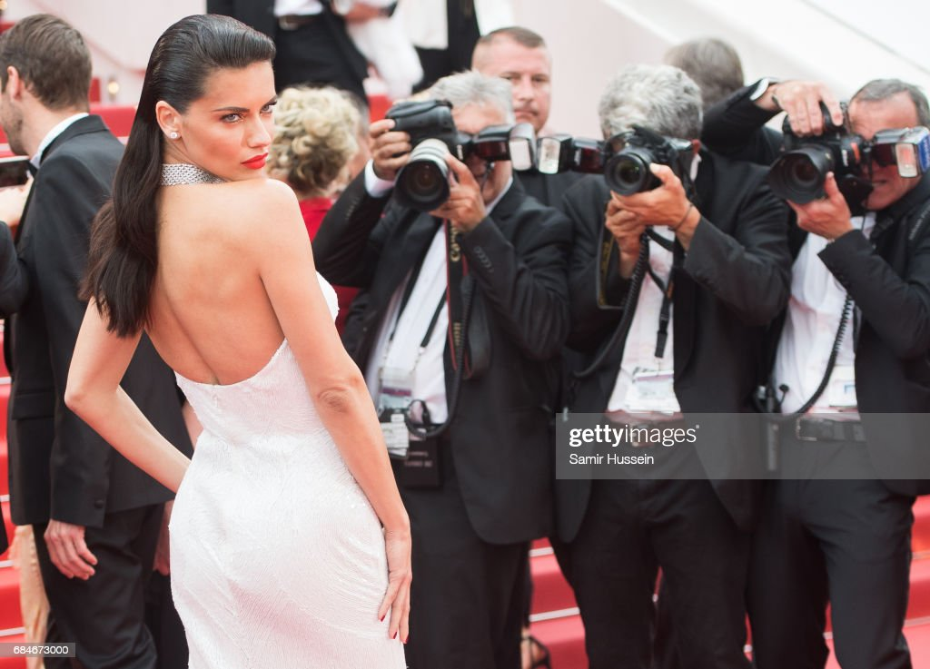 Adriana Lima attends the 'Loveless (Nelyubov)' screening during the 70th annual Cannes Film Festival at Palais des Festivals on May 18, 2017 in Cannes, France.