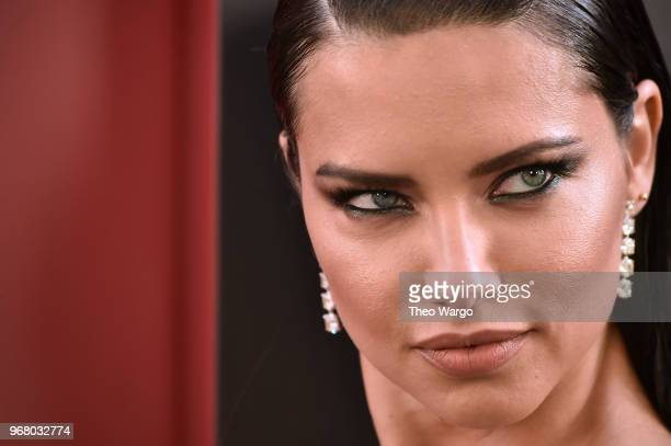 Adriana Lima attends the Ocean's 8 World Premiere at Alice Tully Hall on June 5 2018 in New York City