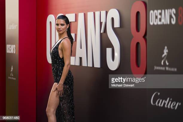 Adriana Lima attends the 'Ocean's 8' World Premiere at Alice Tully Hall on June 5 2018 in New York City