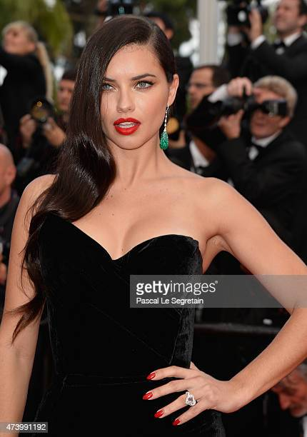 Adriana Lima attends the Premiere of Sicario during the 68th annual Cannes Film Festival on May 19 2015 in Cannes France