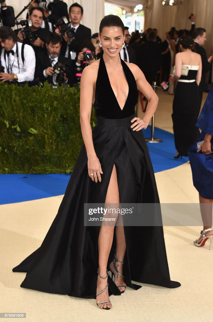 Adriana Lima attends the 'Rei Kawakubo/Comme des Garcons: Art Of The In-Between' Costume Institute Gala at Metropolitan Museum of Art on May 1, 2017 in New York City.