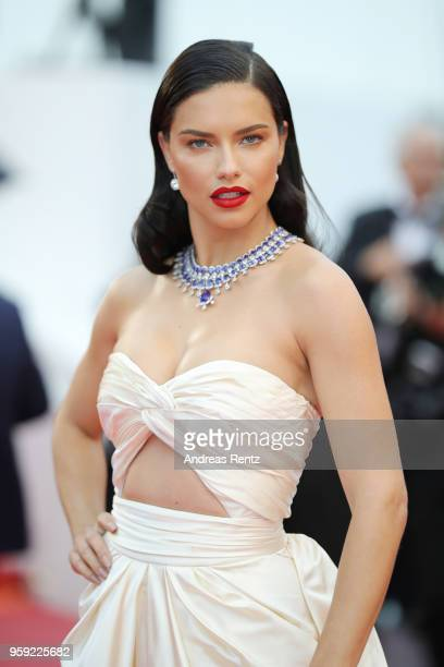 00d7b6203b Adriana Lima attends the screening of Burning during the 71st annual Cannes  Film Festival at Palais