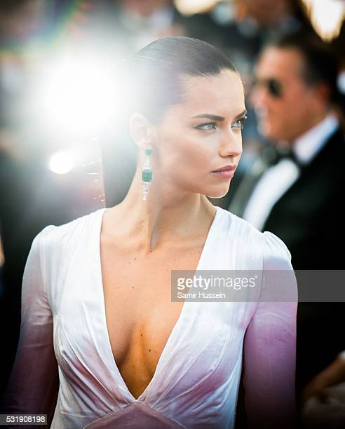 82430d84ac Adriana Lima attends the screening of Julieta at the annual 69th Cannes Film  Festival at Palais.