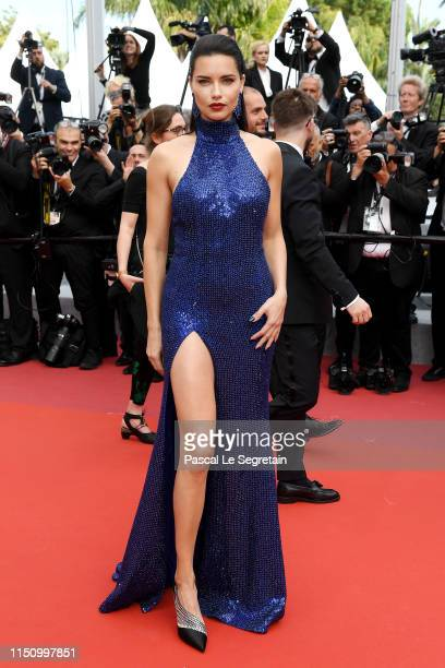"Adriana Lima attends the screening of ""Oh Mercy! "" during the 72nd annual Cannes Film Festival on May 22, 2019 in Cannes, France."