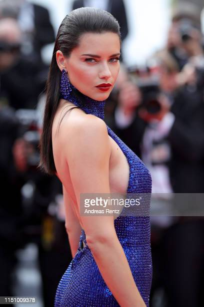 """Adriana Lima attends the screening of """"Oh Mercy! """" during the 72nd annual Cannes Film Festival on May 22, 2019 in Cannes, France."""
