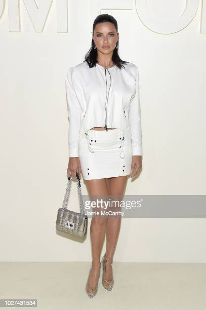 Adriana Lima attends the Tom Ford fashion show during New York Fashion Week at Park Avenue Armory on September 5 2018 in New York City