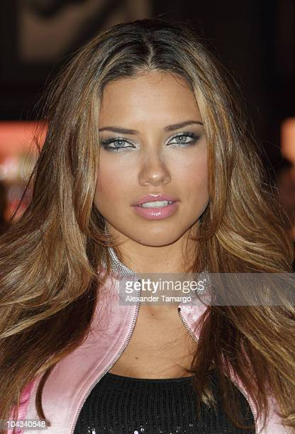 Adriana Lima attends Victoria's Secret Beauty Bombshell Fragrance Collection Launch at Aventura Mall on September 21 2010 in Miami Florida
