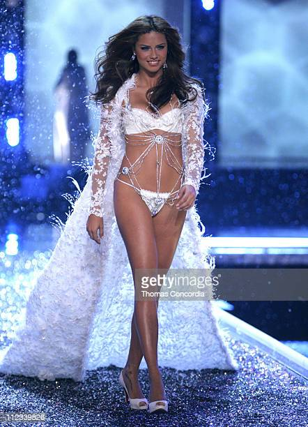 Adriana Lima during 11th Victoria's Secret Fashion Show Runway at Kodak Theatre in Hollywood CA United States