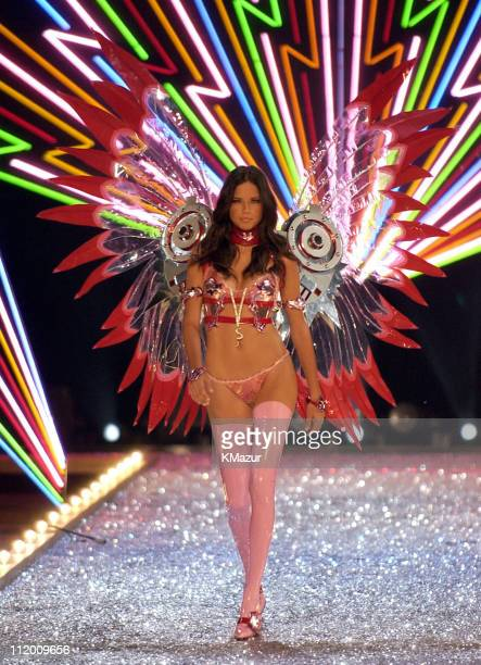 Adriana Lima during 9th Annual Victoria's Secret Fashion Show Runway at The New York State Armory in New York City New York United States