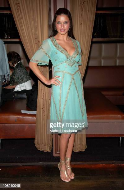Adriana Lima during Adriana Lima Hosts 'Dance for Tolerance' Benefit Dance at Room Service in New York City New York United States