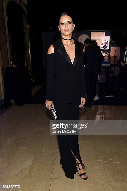 Adriana Lima during Harper's Bazaar's celebration of ICONS By Carine Roitfeld presented by Infor Laura Mercier and Stella Artois at The Plaza Hotel...