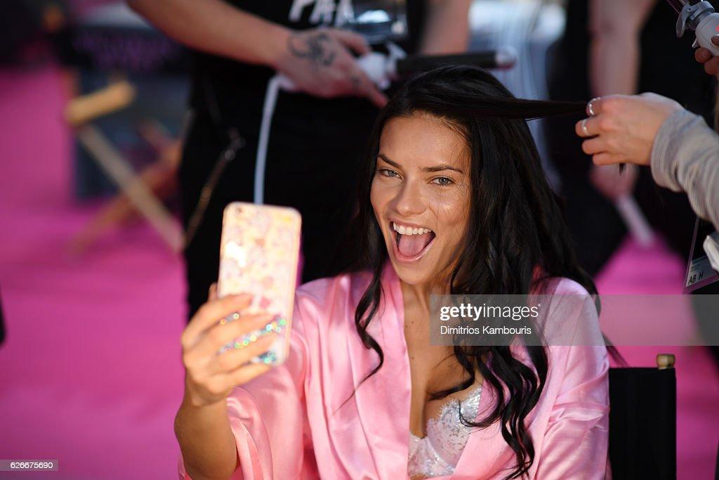 2016 Victoria's Secret Fashion Show in Paris - Hair & Makeup