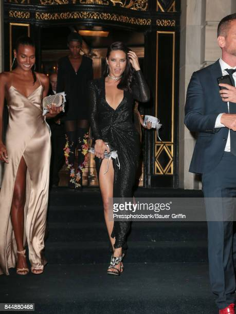 Adriana Lima is seen attending Harper's BAZAAR Celebration of 'ICONS By Carine Roitfeld' at The Plaza Hotel on September 08 2017 in New York City