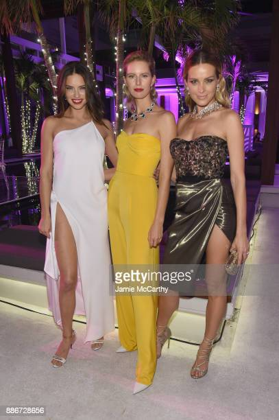 Adriana Lima Karolina Kurkova and Petra Nemcova attend Creatures Of The Night LateNight Soiree Hosted By Chopard And Champagne Armand De Brignac at...