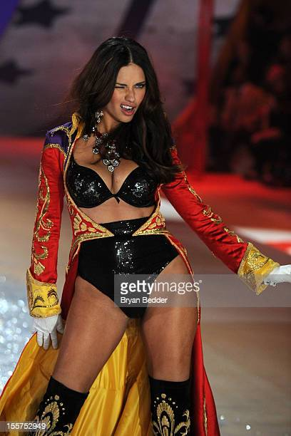 Adriana Lima walks the runway during the Victoria's Secret 2012 Fashion Show on November 7 2012 in New York City