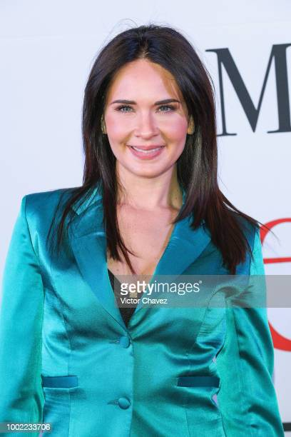 Adriana Louvier attends 'Mas Sabe El Diablo Por Viejo' premiere at Cinemex Antara Polanco on July 19 2018 in Mexico City Mexico
