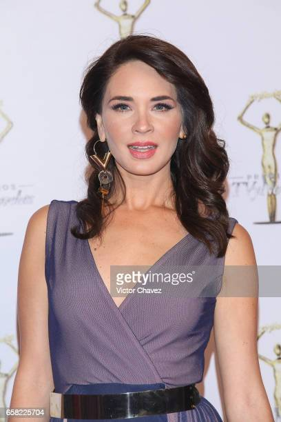 Adriana Louvier attends Premios Tv y Novelas 2017 at Televisa San Angel on March 26 2017 in Mexico City Mexico